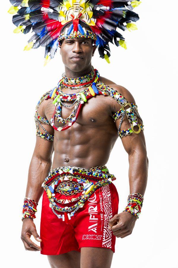 Maasai Male Backline