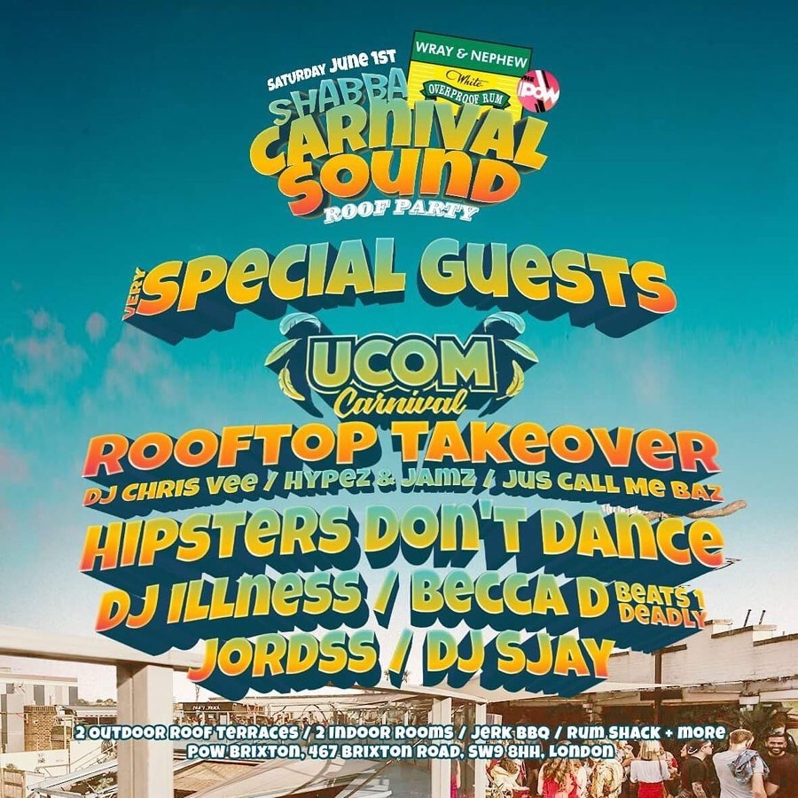 Carnival Sound Rooftop Party
