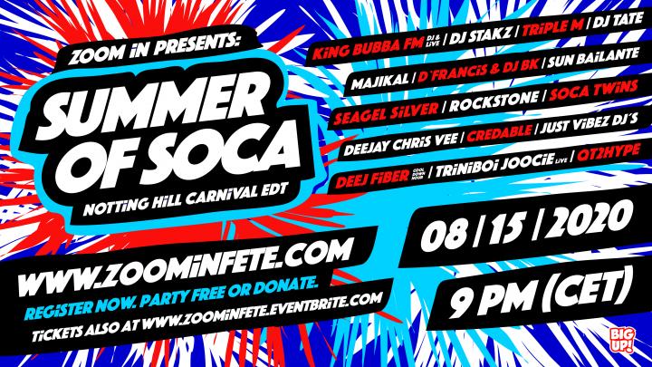 Summer Of Soca – Notting Hill Carnival Edition