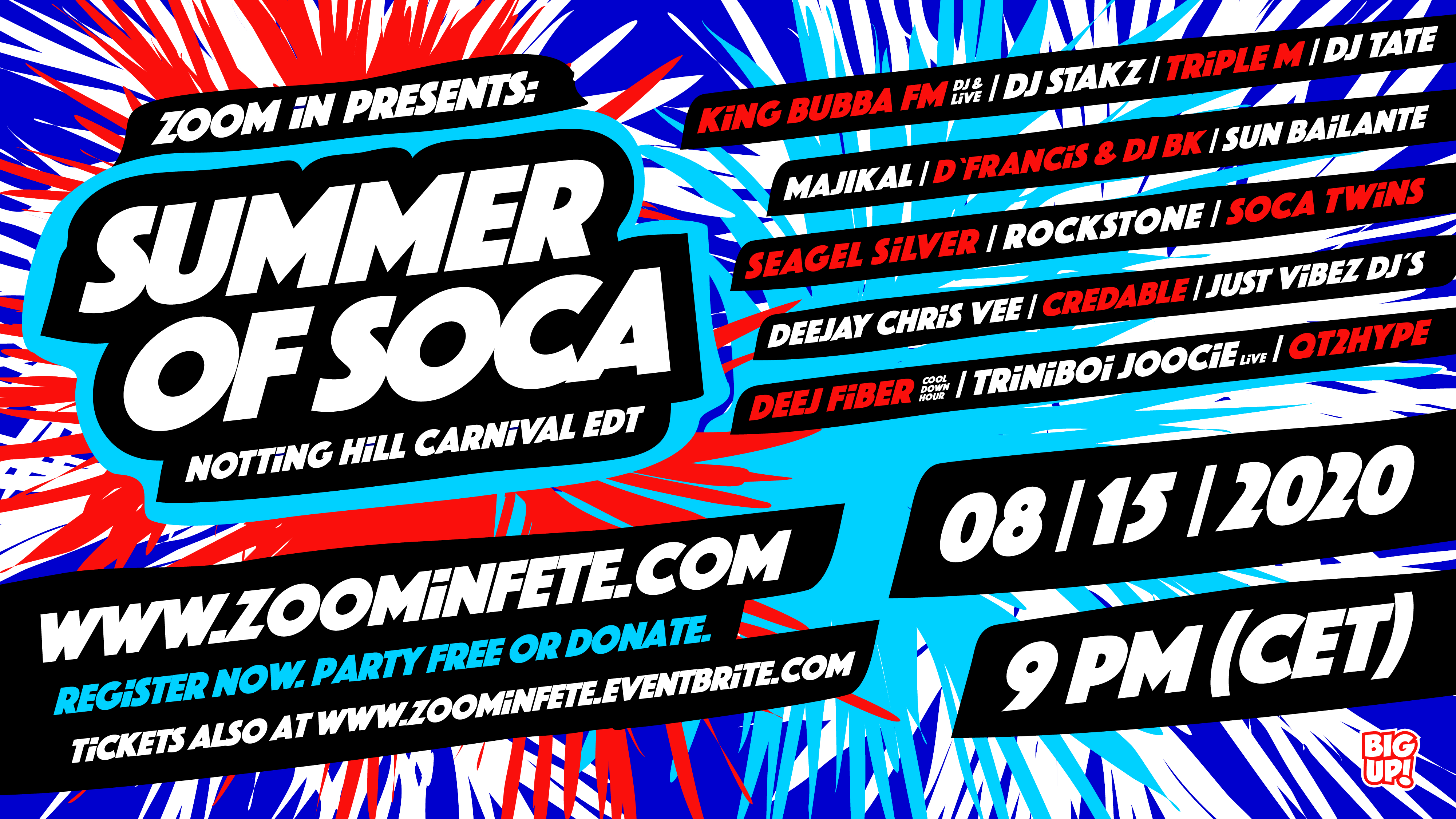 Summer Of Soca – Notting Hill Carnival Edition