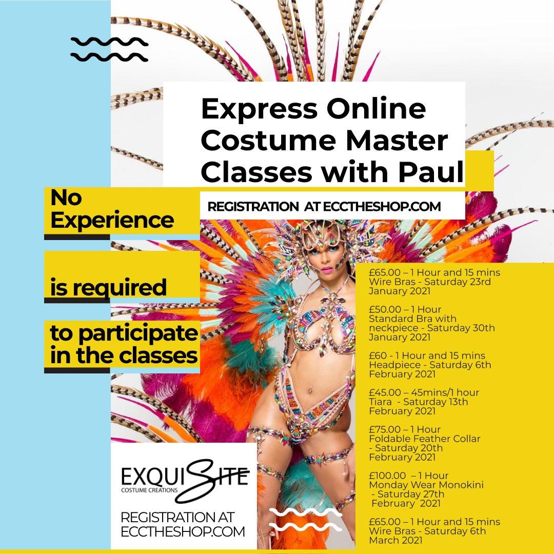 Online Costume Master Classes
