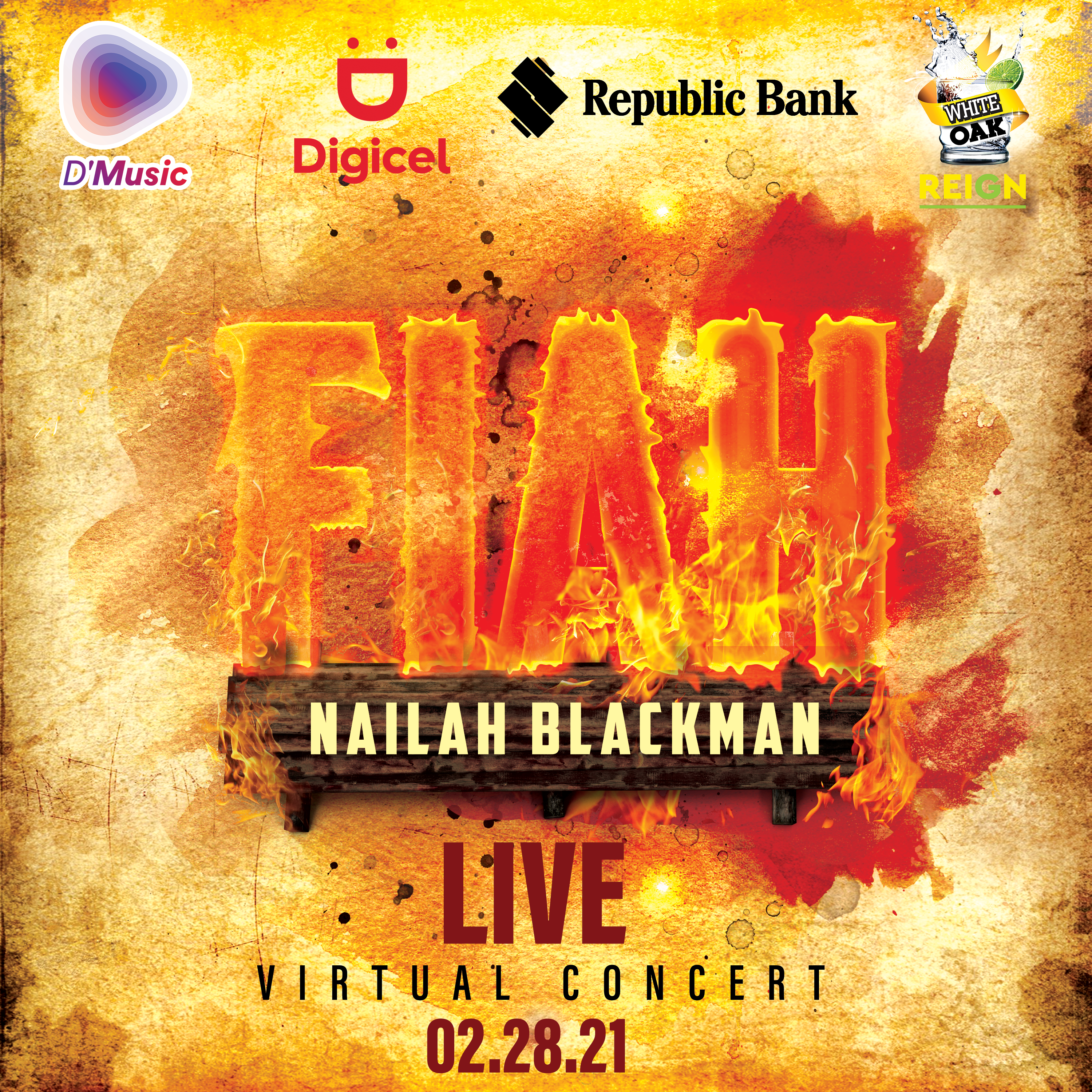 "Nailah Blackman ""Fiah"" Live Virtual Concert"