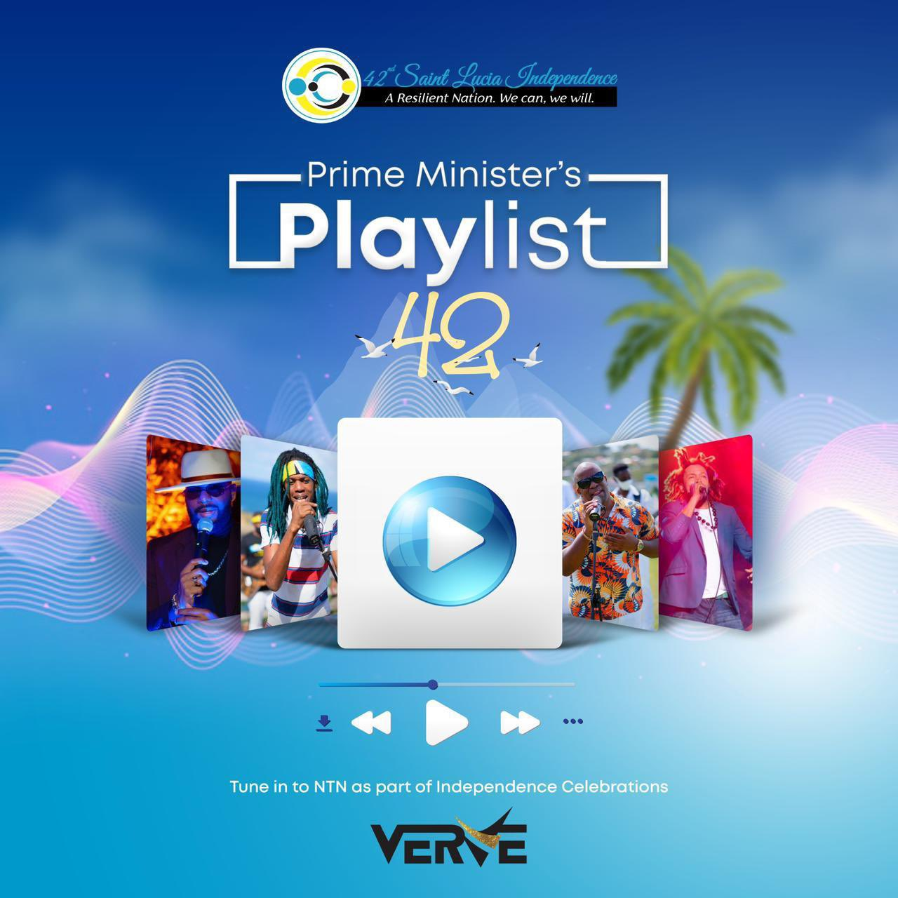 Playlist 42 - St Lucia Independence Day Celebration 2021