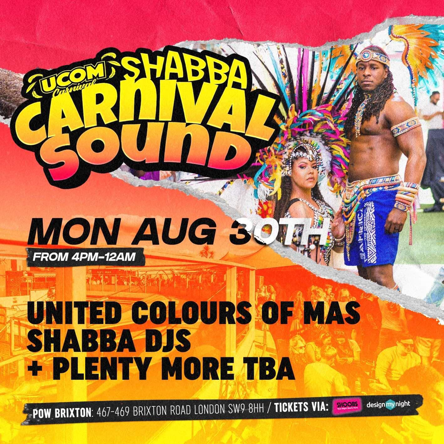 Carnival Monday Day Party